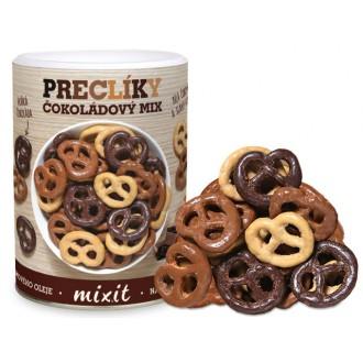 Oříšky + Ovoce - Mix preclíků v čokoládě 250 g
