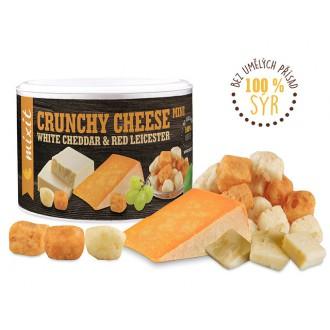 Oříšky + Ovoce - Křupavý sýr White Cheddar & Red Leicester 70 g