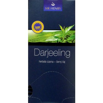 Čaj - SIR HENRY Darjeeling čaj balený 25 sáčků