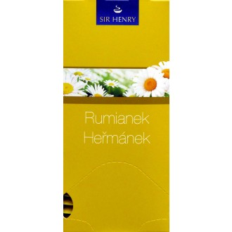 Čaj - SIR HENRY čaj balený heřmánek 25 sáčků