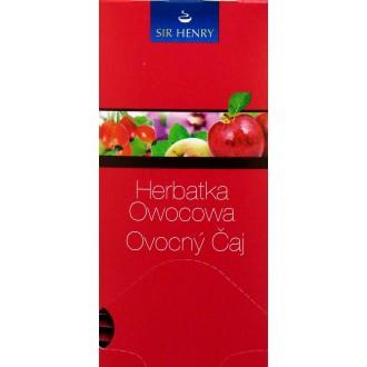 Čaj - SIR HENRY čaj balený ovocný 25 sáčků