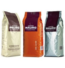 Mauro degustační balíček káva zrnková 3x 1000 g
