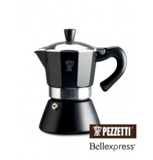 Pezzetti Bell Express moka konvice černá 3 šálky
