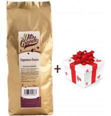 Vito Grande Rosso káva zrnková 1000 g + dárek