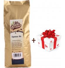 Vito Grande Blu káva zrnková 1000 g + dárek