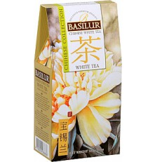 BASILUR Chinese White Tea papír 100 g
