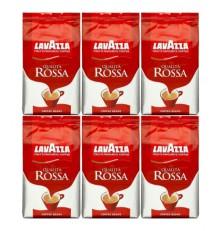 Lavazza Espresso Qualita Rossa káva zrnková 6 x 1000 g