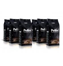 Pellini Espresso Bar No.9 Cremoso káva zrnková 6 x 1000 g