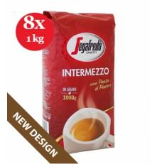 Segafredo Intermezzo zrnková káva 8 x 1000 g
