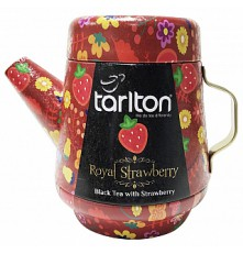 TARLTON Tea Pot Royal Strawberry Black Tea plech 100 g