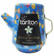 TARLTON Tea Pot Jasmine Teardrops Green Tea plech 100 g