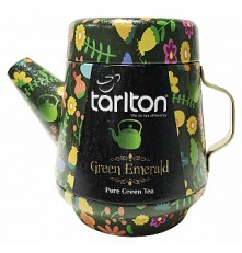 TARLTON Tea Pot Green Emerald Green Tea plech 100 g