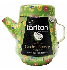 TARLTON Tea Pot Cardinal Soursop Green Tea plech 100 g