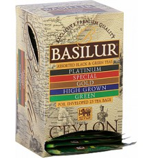 BASILUR Island of Tea Assorted přebal 20 x 2 g a 5 x 1,5 g