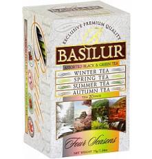 BASILUR Assorted Four Seasons přebal 10 x 1,5 g a 10 x 2 g