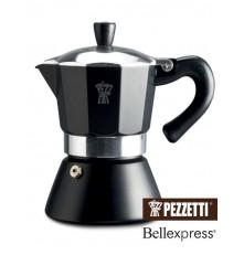 Pezzetti BellExpress moka konvice černá 6 šálků
