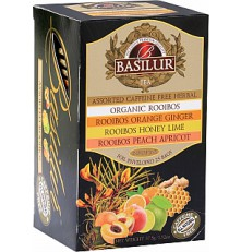 BASILUR Rooibos Assorted 25 x 1,5 g