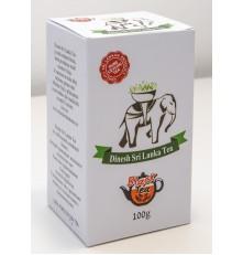 Černý čaj DINESH SRI LANKA TEA sypaný - powder 100 g