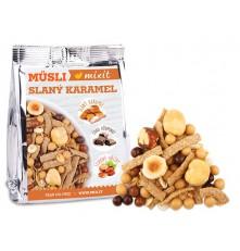 Pečený Mixit - Slaný karamel & lískové oříšky do kapsy 60 g