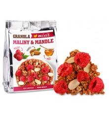 Granola z pece - Maliny a mandle do kapsy 70 g