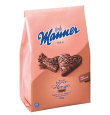 MANNER RUM-TRÜFFLECREME HERZEN 300 g