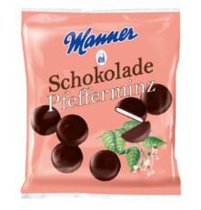 MANNER PFEFFERMINZ SCHOKOLADE 150 g