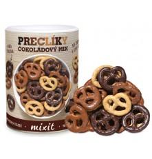 Mix preclíků v čokoládě 250 g