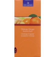 SIR HENRY čaj balený pomeranč a zázvor 25 sáčků